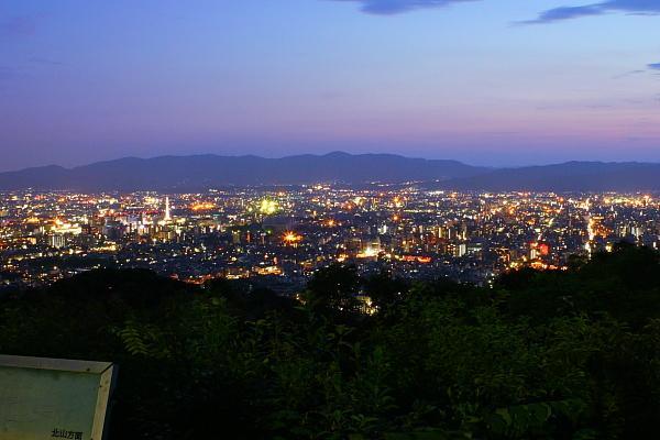 将軍塚青竜殿へのアクセス、駐車場。夜景やライトアップについて!