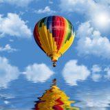 気球で海を渡る挑戦