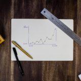具体的な数値で目標達成を管理している図