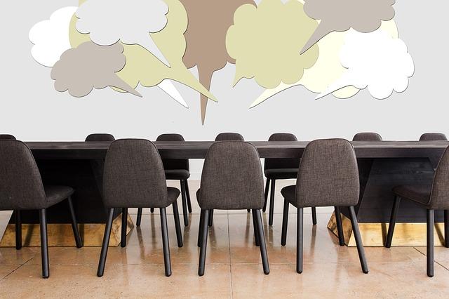 仕事で使う会議室